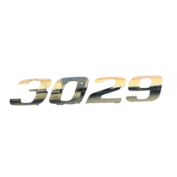 3029 KAPI YAZISI