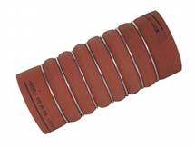 Intercooler Hortumu 100 x 250 Kauçuk Kırmızı