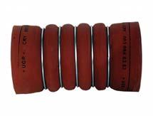 Intercooler Hortumu 100 x 205 Kauçuk Kırmızı