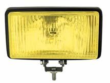 Sis Lambası 132x240 mm Sarı Halogen